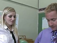 Gorgeous Student Kylee Reese Is Having The Lesson She Will Never Ever Leave Behind