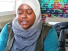 Arabic Lesson Turns To Muslim Painal - Tutor Gets A Explosion Lodged Up Her Bum
