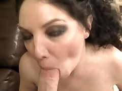 Dark Haired Has A Good Time Getting It On With Horny Fuck Acquaintance