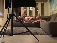 All Girl Behind The Scenes With Cindy Hope, Lana S And Zorah Milky