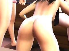 I Was Watching Television With My Friends And I Ended Up Fucking Them - Sexual Hot Animations