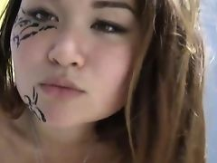 Adorable Asian Hotty Shows Her Pretty Hot Slit In Closeup Flick