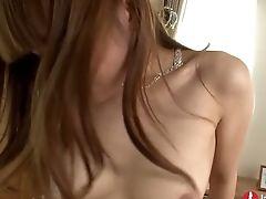 Nozomi Koizumi Treats Two Boner Rods Of Her Japanese Studs (fmm)