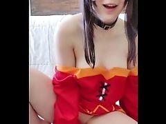 Megumin Costume Play From Konosuba Rails & Fucks You ♡ Vid Preview! ♡ Mira_xo