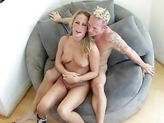 Blonde Dana Vespoli Has Some Hump Fantasies To Be Fulfilled With Hard Cocked Bang Acquaintance Erik Everhard