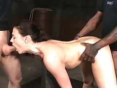 Chanel Preston Is A House Girl And She Knows What Bondage & Discipline Is All About