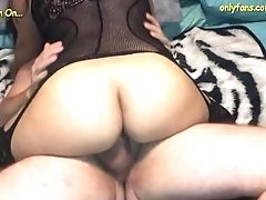 Watching My Wifey Get Packed With A Breeding Internal Cumshot
