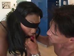 Greatest Sex Industry Star Nyomi Banxxx In Amazing Bondage & Discipline, Deep Throat Xxx Clip