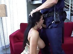 Romi Rain Spends Her Sexual Energy With Jean Val Jeans Sturdy Love Stick In Her Mouth