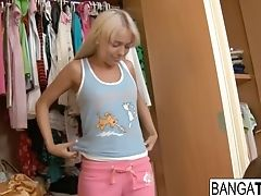 Pretty Blonde Teenage Wants To Get Down And Dirty