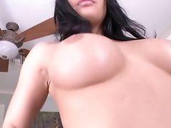 Fucking Hot Latina Honey Karissa Kane Gives Herself And Treat