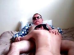 Hd-redneck Dad Creams His Boy-prt1