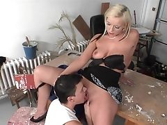 Blonde Is Ready To Suck Guys Love Torpedo All Night Lengthy