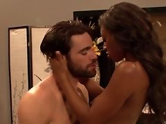 Black-haired Evanni Solei Takes Oral Hook-up To The Entire Fresh Level As She Does It With Hard Cocked Dude Charles Dera