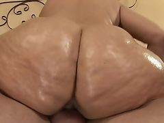 Black-haired With Giant Knockers Gets Painted With Bone Juice On Camera For Your Viewing Enjoyment