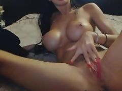 Super-cute Nubile Gets Naked And Fuck Her Vagina