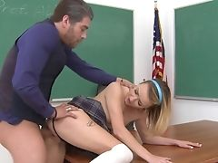 Nubile Asks Her Man To Stick His Bulky Implement In Her Mouth