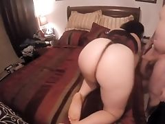 Big Booty Mummy Bj's  And  Gets Drilled From Behind