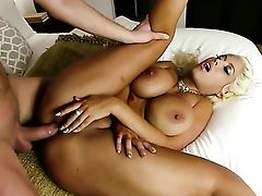 Blonde Fucking Like A Pro In Ass-fuck Act